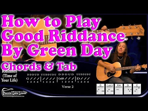 Learn how to play Good Riddance (Time of Your Life) by Green Day. A ...