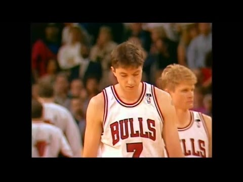 Toni Kukoc (Age 25): Game Winning 3-Pointer Against Indiana Pacers (January 21, 1994)