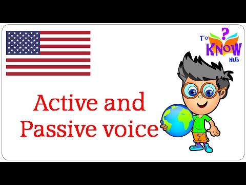 english grammar active passive voice pdf