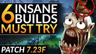 NO BOOTS?! - 6 INSANE Item Builds You MUST TRY - 7.23F Meta Tips to WIN   Dota 2 Pro Guide