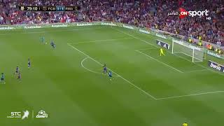 هدف كرستيانو رونالدو في برشلونه تعليق فهد العتيبي ذهاب كأس السوبر الأسباني