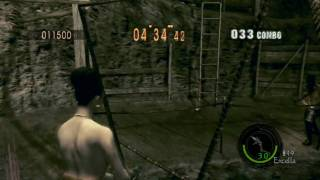 Resident Evil 5 Mercenaries Reunion SOLO The Mines 鉱山 769k (Excella) part(1/2) PS3