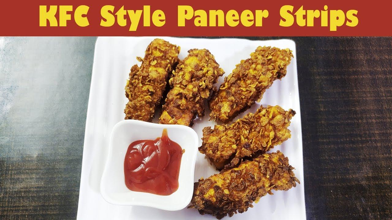 KFC Style Paneer Pakode   लॉकडाउन में घर बैठे आसानी से बनाये KFC स्टाइल पनीर पकौड़ा   Hunger Lounge