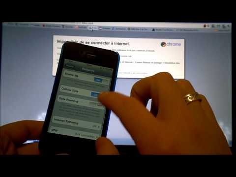 iPhone Internet Tethering - How To Share Internet With Your Computer/Laptop