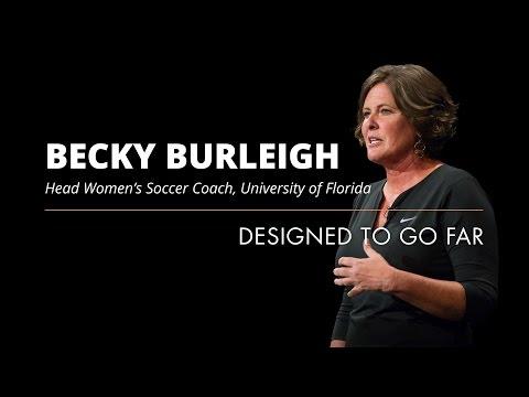 Becky Burleigh: Designed To Go Far