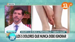De caminar detras dolor al la pierna