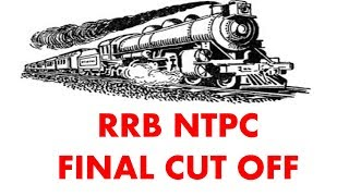 RRB NTPC CUT OFF after marks declaration analysis 2017 Video
