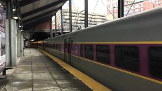 Great Railfanning Day @ Boston Back Bay Station