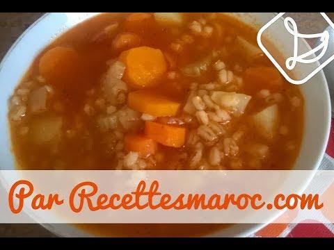 soupe-à-l'orge---barley-soup---حساء-الشعير