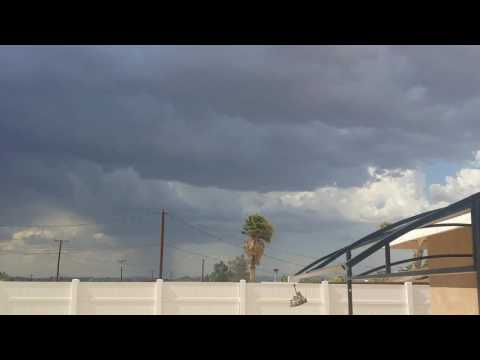 Crazy weather and Amazing sky's in 29 Palms, CA