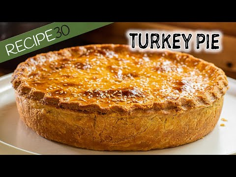 Amazing Creamy Turkey Pie Recipe
