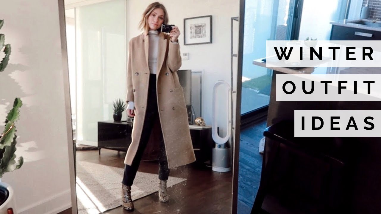 WINTER OUTFIT IDEAS | TRY ON #VLOGMAS 2