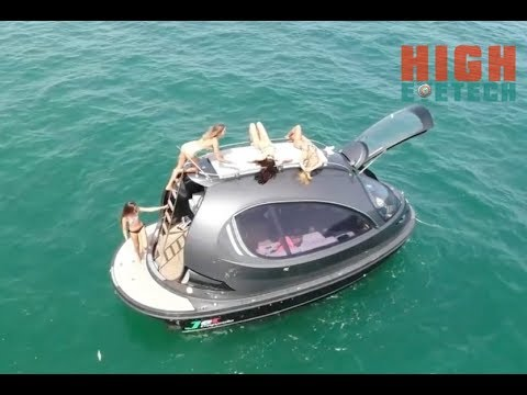 The Best Tiny Luxury Yacht   Powerboat - Carry Up To 10 people