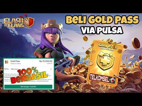 Cara Beli Gold Pass Clash Of Clan New Skin Ice Queen Via Pulsa