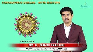 New Myth Busters and facts Regarding Coronavirus disease ( COVID19 )