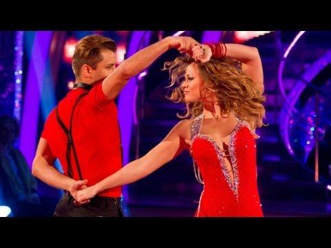 Kimberley Walsh & Pasha Salsa to 'Naughty Girl' - Strictly Come Dancing 2012 - Week 5 - BBC One