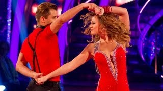 Kimberley Walsh & Pasha Salsa to 'Naughty Girl' - Strictly Come Dancing 2012 - Week 5 - BBC One