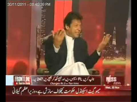 Imran Khan exposed in Front Line with Kamran Shahid - Part 3