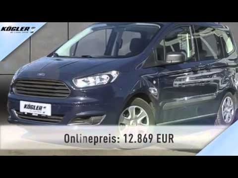 ford tourneo tourneo courier 1 0 ecoboost ambiente 22 youtube. Black Bedroom Furniture Sets. Home Design Ideas