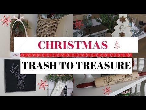 CHRISTMAS TRASH TO TREASURE/GOODWILL MAKEOVERS