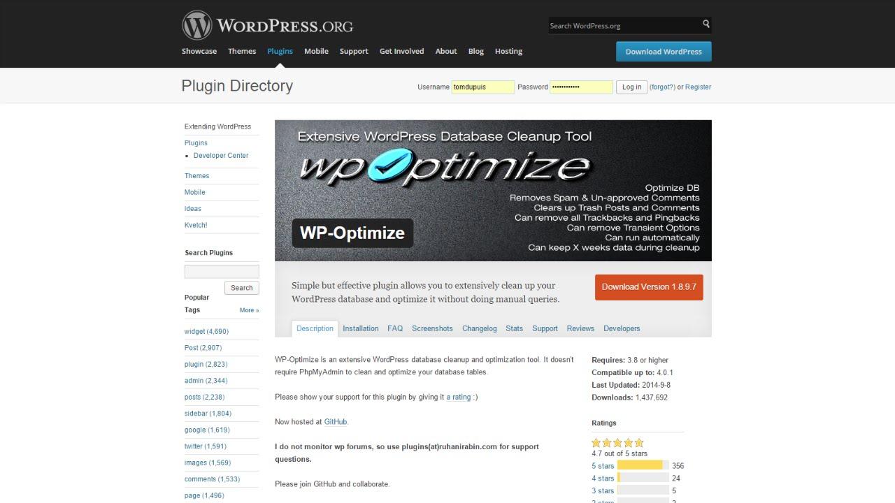 WP-Optimize Tutorial - YouTube