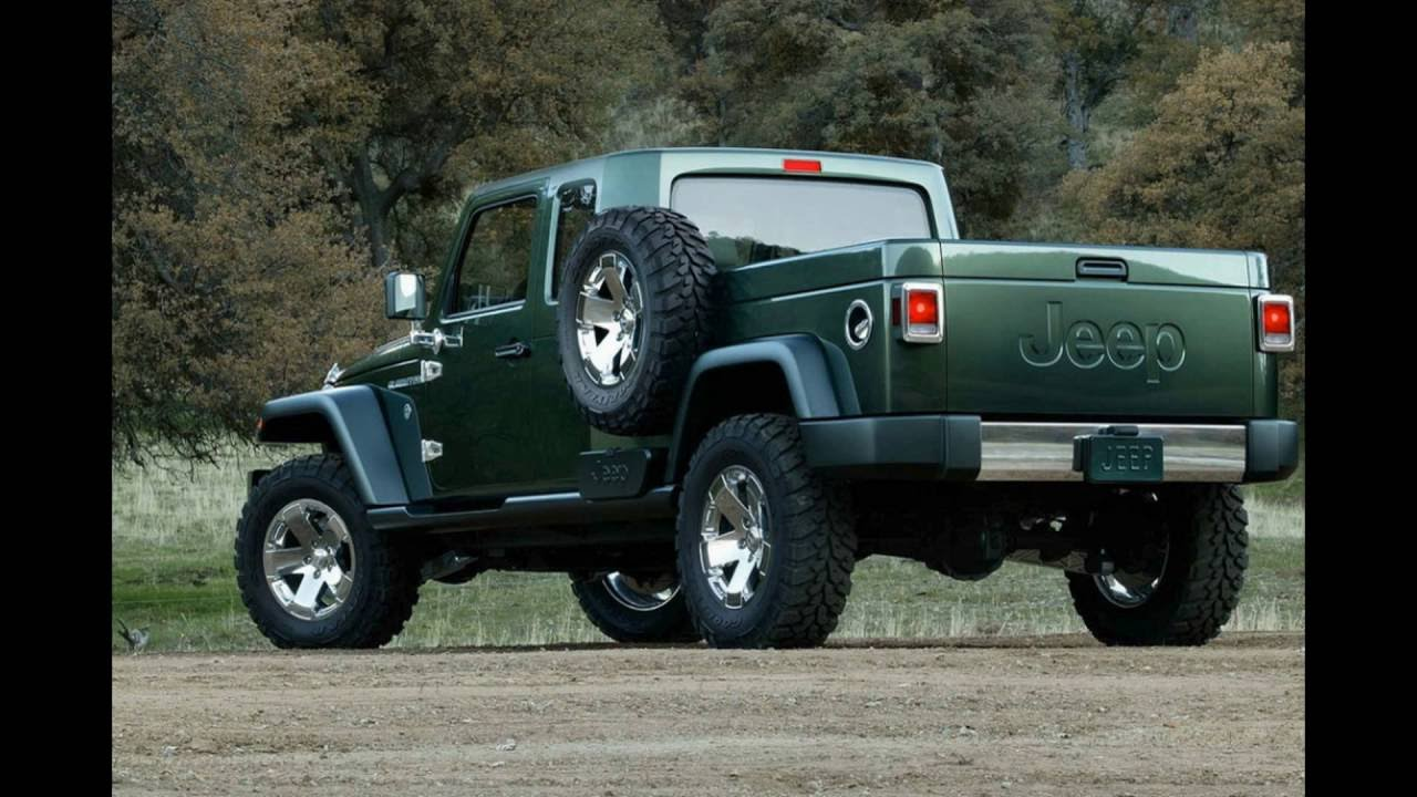 The 2017 Jeep Wrangler Truck
