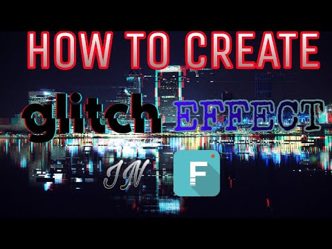 HOW TO CREATE GLITCH EFFECT IN FILMORA GO
