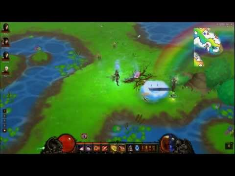 Diablo 3 III Whimsyshire 1080p HD HIGHLIGHTS - Secret Cow Pony Level High Quality Let's Play