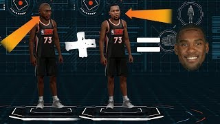 LEGEND AND CURRENT PLAYER MERGING IN 2K19?! MYCAREER CREATION CONCEPT..