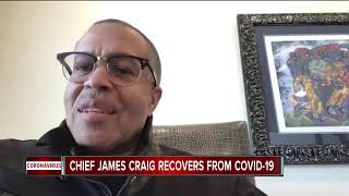 Detroit Police Chief James Craig says he has recovered from COVID-19