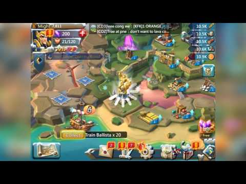 Lords Mobile - Level 10 Reached - Black Crow Defeated - Gameplay Video HQ IOS, Android