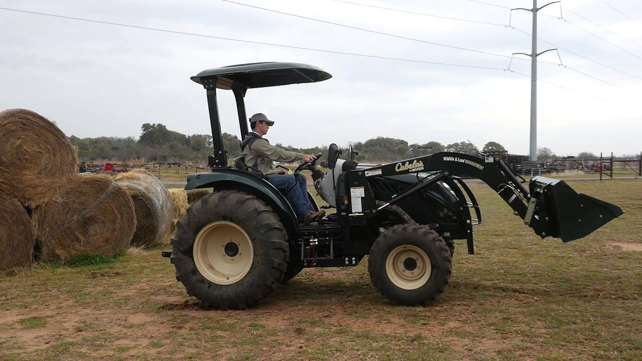 Cabela S Tractors : Demo video of cabela s lm h tractor with loader