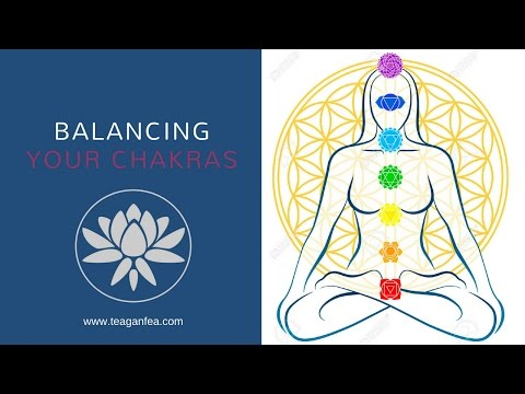 Balancing The Chakras (Energy Centres)