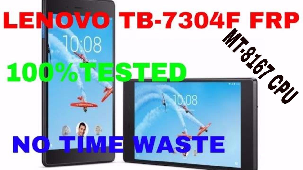 Lenovo TB-7304F FRP Reset İşlemi | GSM TÜRKİYE