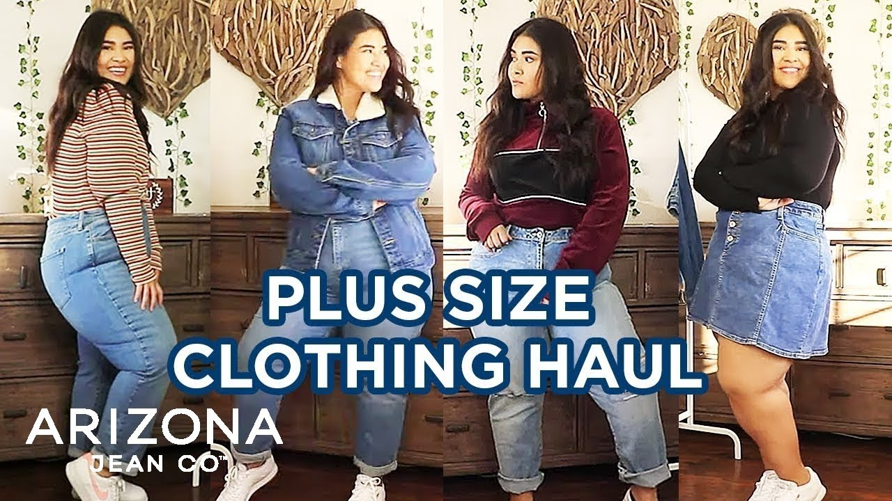Plus Size Haul 2019 - Casual Outfit Ideas | Arizona Jean Co. 2