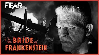 The Monster Emerges From The Wreckage | Bride of Frankenstein