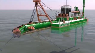 Engineering of the Cutter Suction Dredger