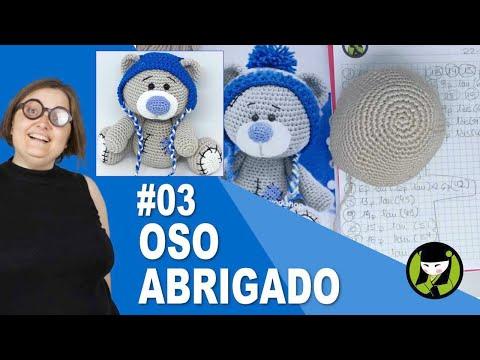 OSO AMIGURUMI 03 osito tejido a crochet