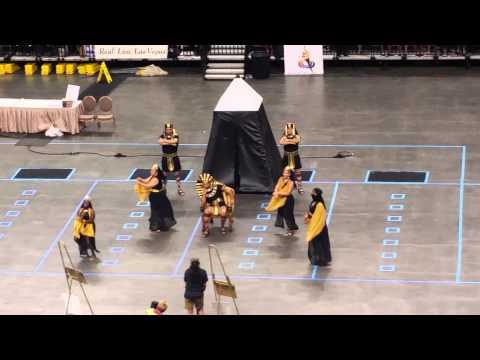 Housekeeping Olympics 2015 TEAM LUXOR DANCERS