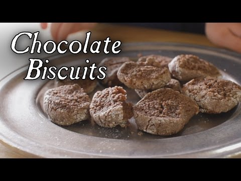 Chocolate Biscuits - 18th Century Cooking with Jas Townsend and Son S4E2