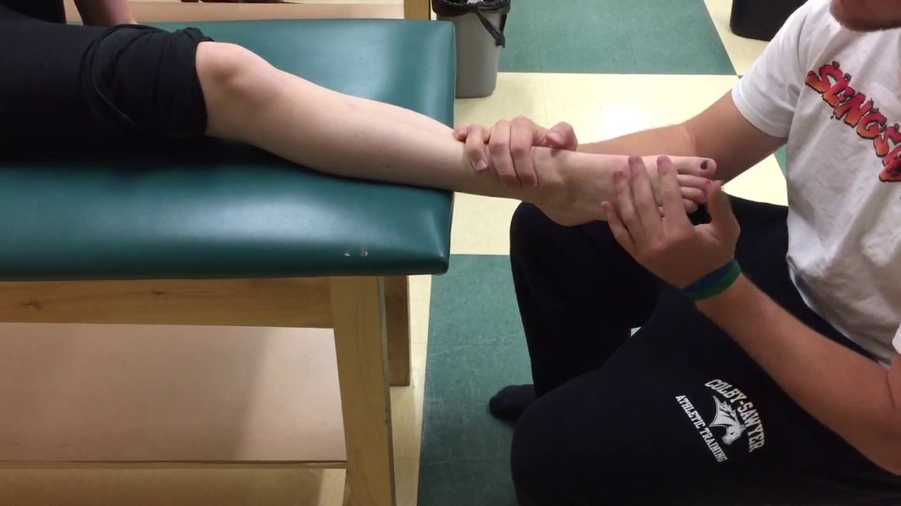 Mmt Peroneus Longus And Brevis Youtube