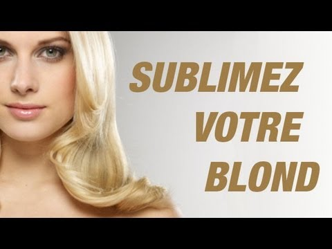 Comment Avoir Un Beau Blond Avant Apres Youtube