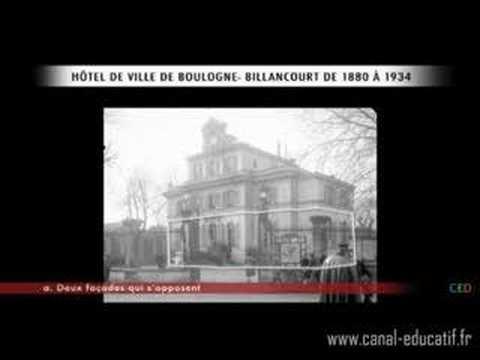 Documentaire sur l'hôtel de Ville de Boulogne Billancourt