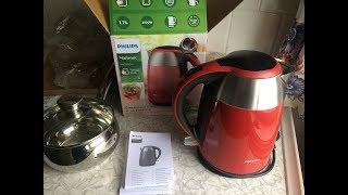 Чайник FILIPS HD9329 Обзор Распаковка Филипс Лучший Чайник Электрический 2018