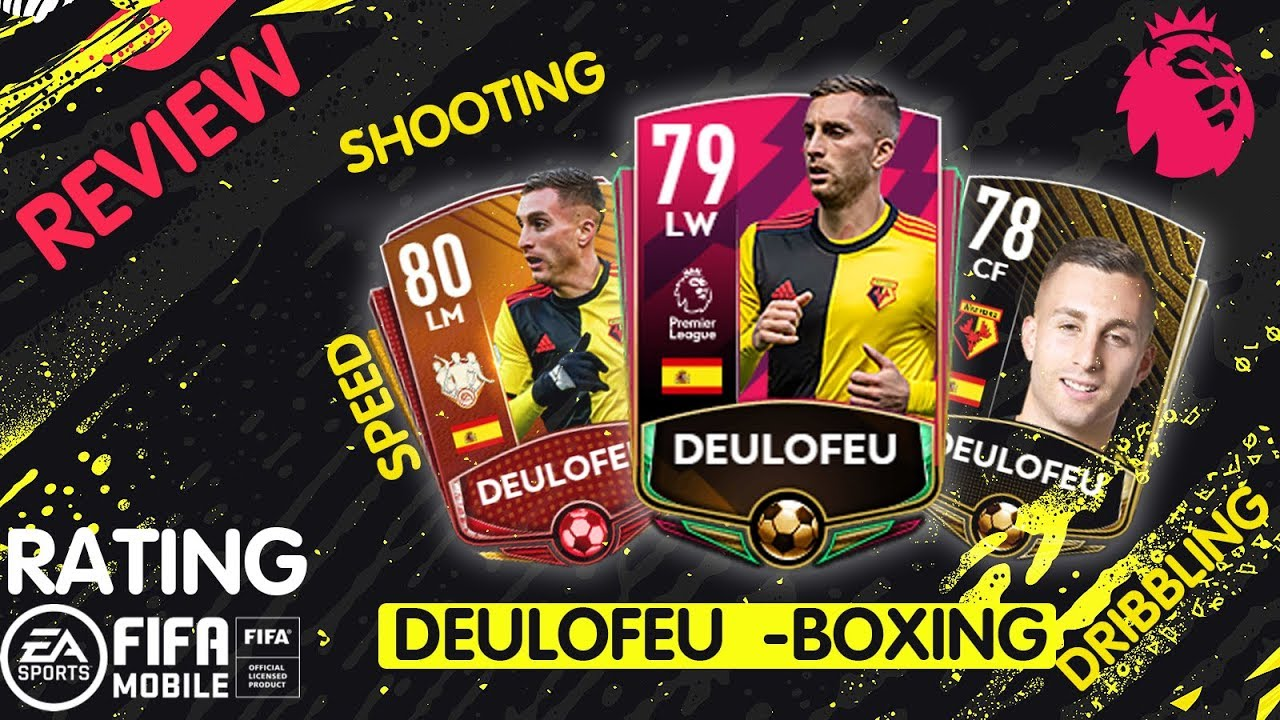 Deulofeu BOXING DAY Review FIFA 20 mobile - YouTube