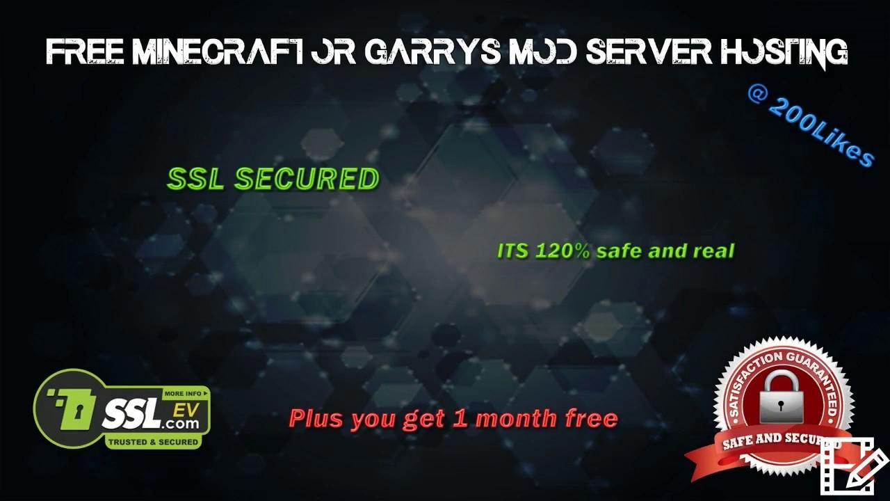 Garry s mod хостинг хостинги с конструктором