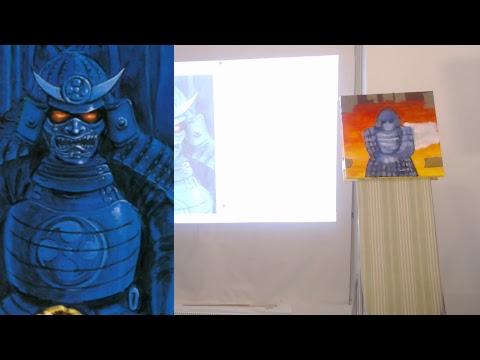 TRSOF Live Stream – Sengoku (SNK) acrylic painting PART 1