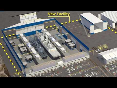 Mega world-class shipbuilding facility