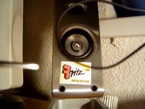 Fritz Jingle Karaoke: Lautsprecherkabel