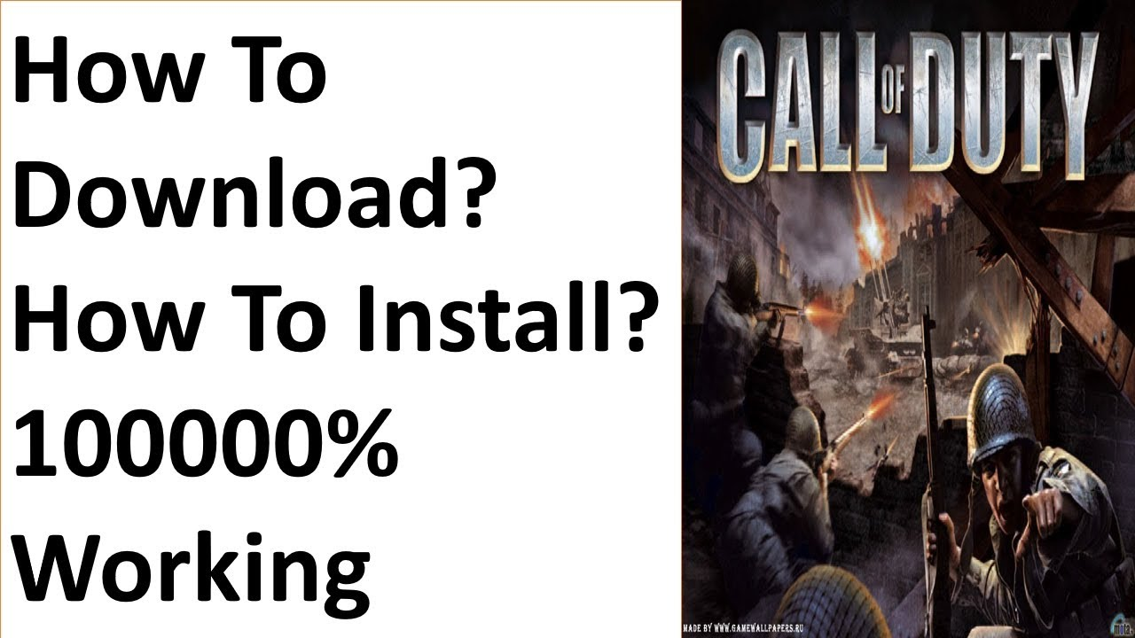 call of duty 1 free download full version for pc kickass